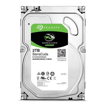 "Image of   SEAGATE Desk HD BarraCuda 2TB 3.5"" SATA 3"
